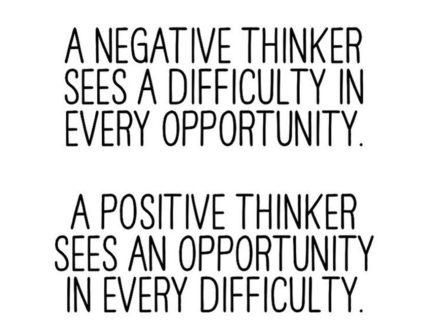 Negative thinker