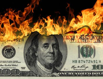 Burning capital