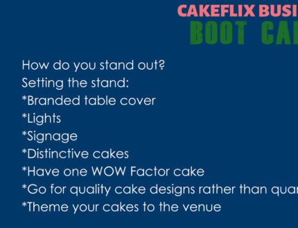How to stand out at a cake show