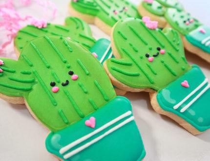 beginners sugar cookies side angle