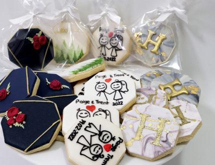 wedding cookies full image