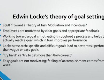 6. Edwin Locke