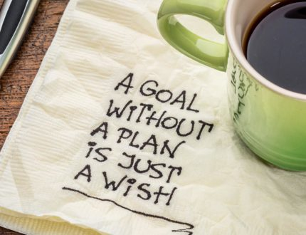 8. Goal without a plan is a wish