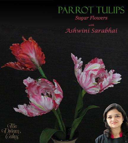 Parrot Tulips Sugar Flower