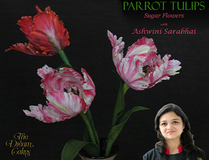Parrot Tulips Sugar Flower