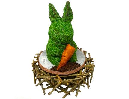Topiary Bunny full shot