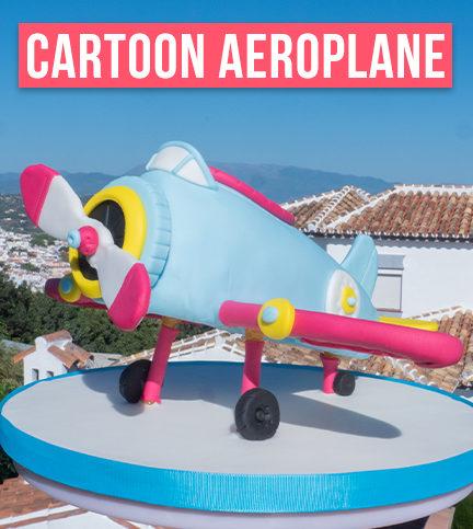 Cartoon Aeroplane – Bite Sized