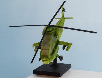 Helicopter full shot