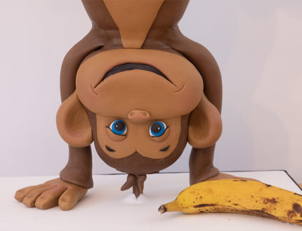 cheeky monkey face