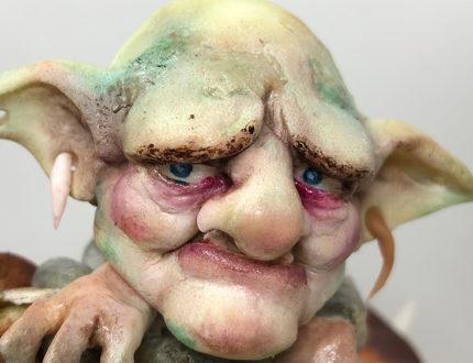 Goblin village face