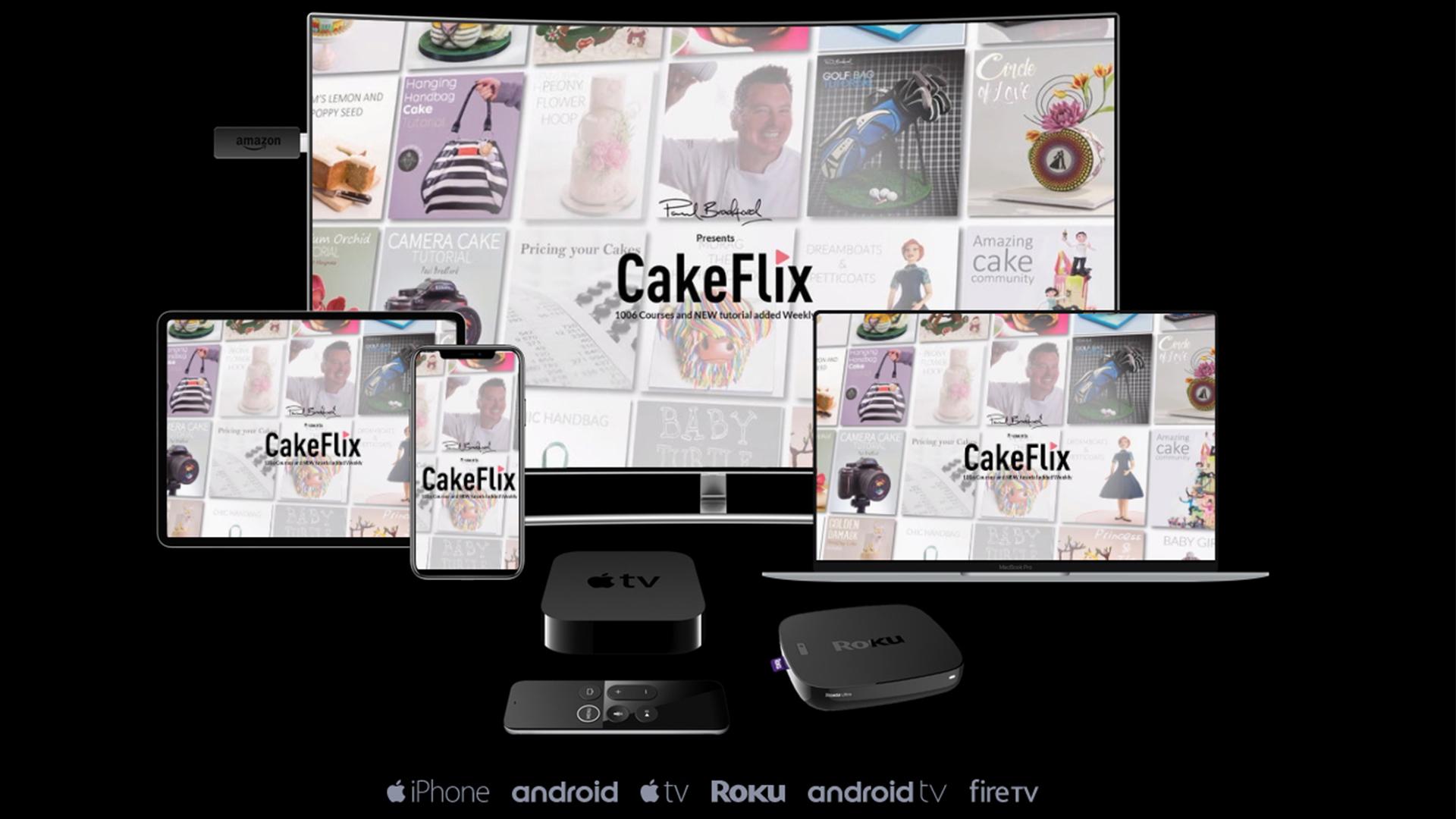 CakeFlix Apps