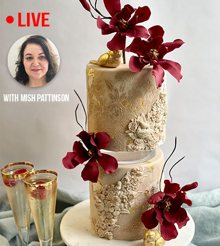 On-Trend Texturing Techniques & Architectural Sugar Flowers