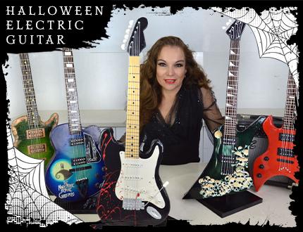 Halloween Electric Guitar