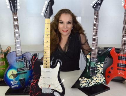Halloween Electric Guitar Verusca