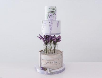 French Lavender full cake