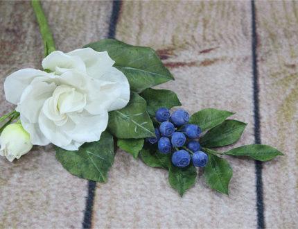 Floral arrangement part 1 on wood
