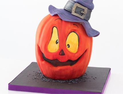 Spooky Pumpkin close up
