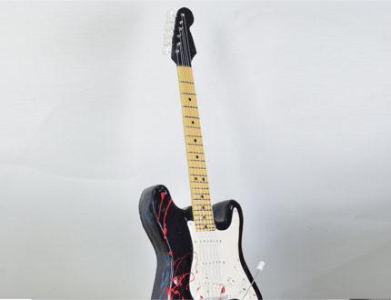 Halloween Electric Guitar Top