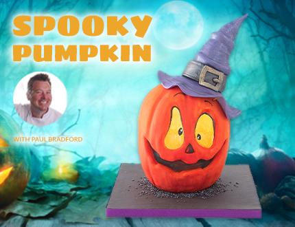 Spooky Pumpkin Cake